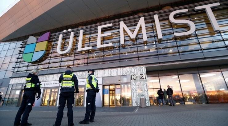 ФОТО | Протестная акция антимасочников в центре Юлемисте провалилась