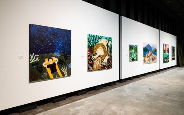 ФОТО: персональная выставка Лийзы Круузмяги «Мечтатели» переносит городских жителей на природу