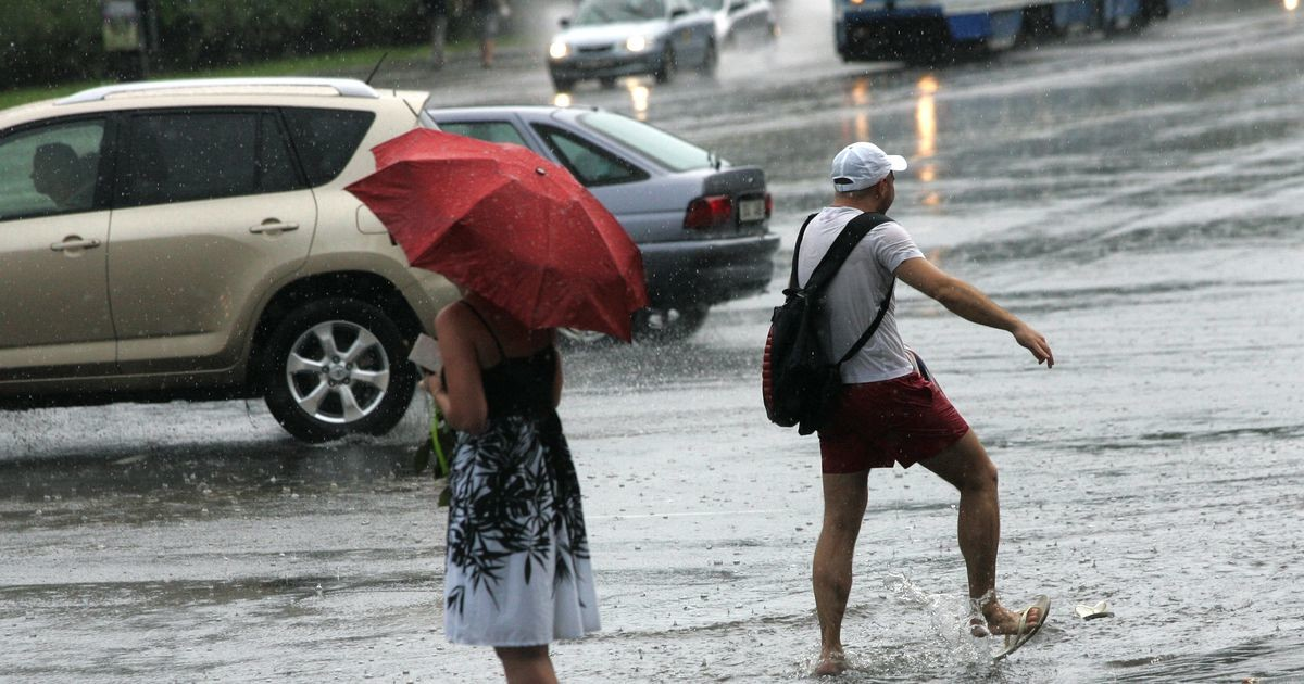 Жара отступает? Завтра в Эстонии ожидаются дожди и гроза