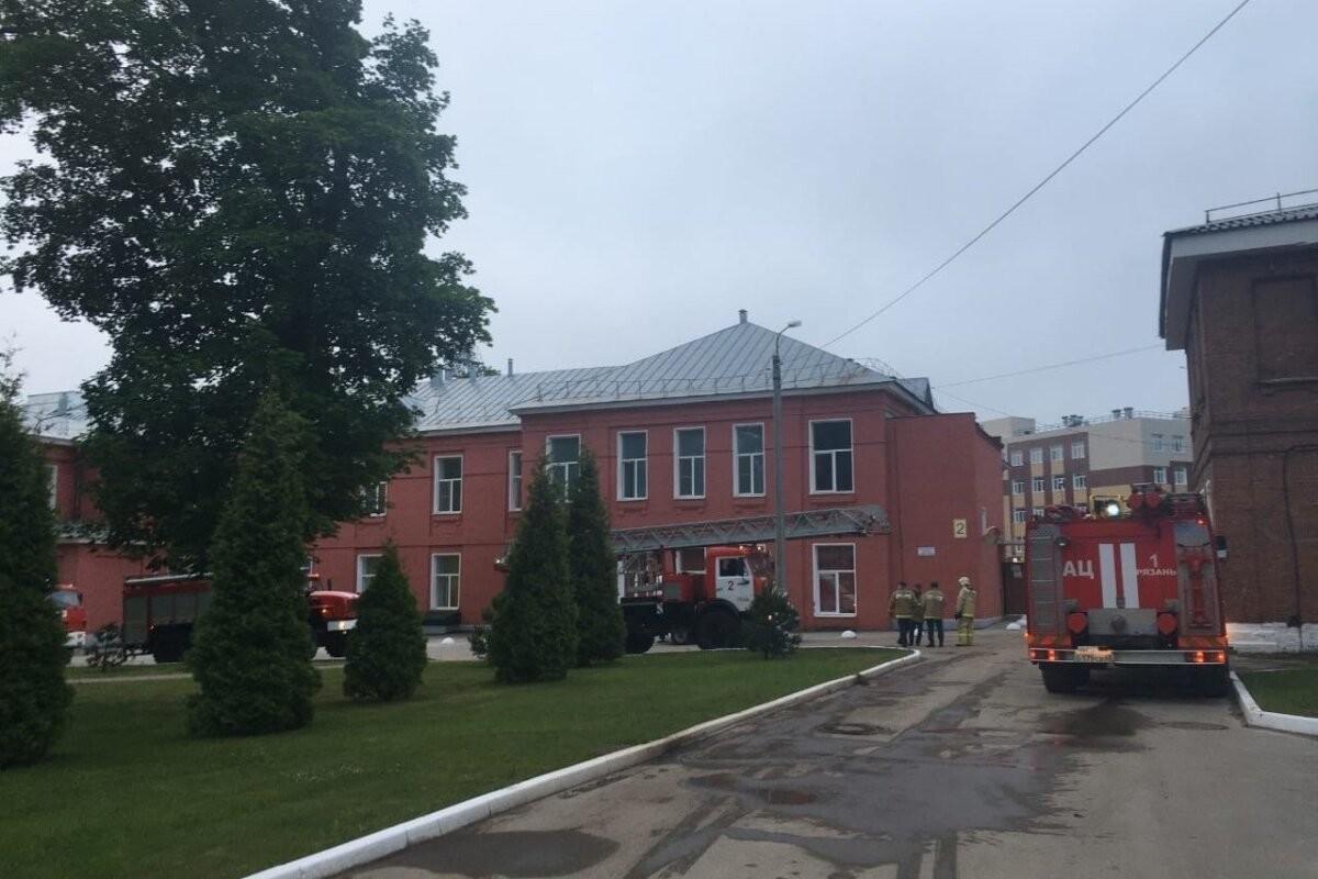 При пожаре в коронавирусной реанимации в Рязани погибли три человека