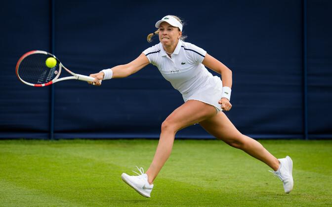 Контавейт обыграла на турнире в Истбурне 7-ю ракетку мира и вышла четвертьфинал