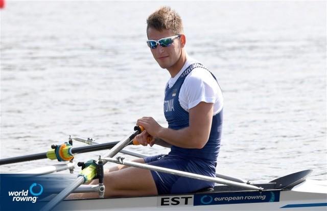 Нарвский гребец Михаил Куштейн стал двукратным чемпионом Эстонии