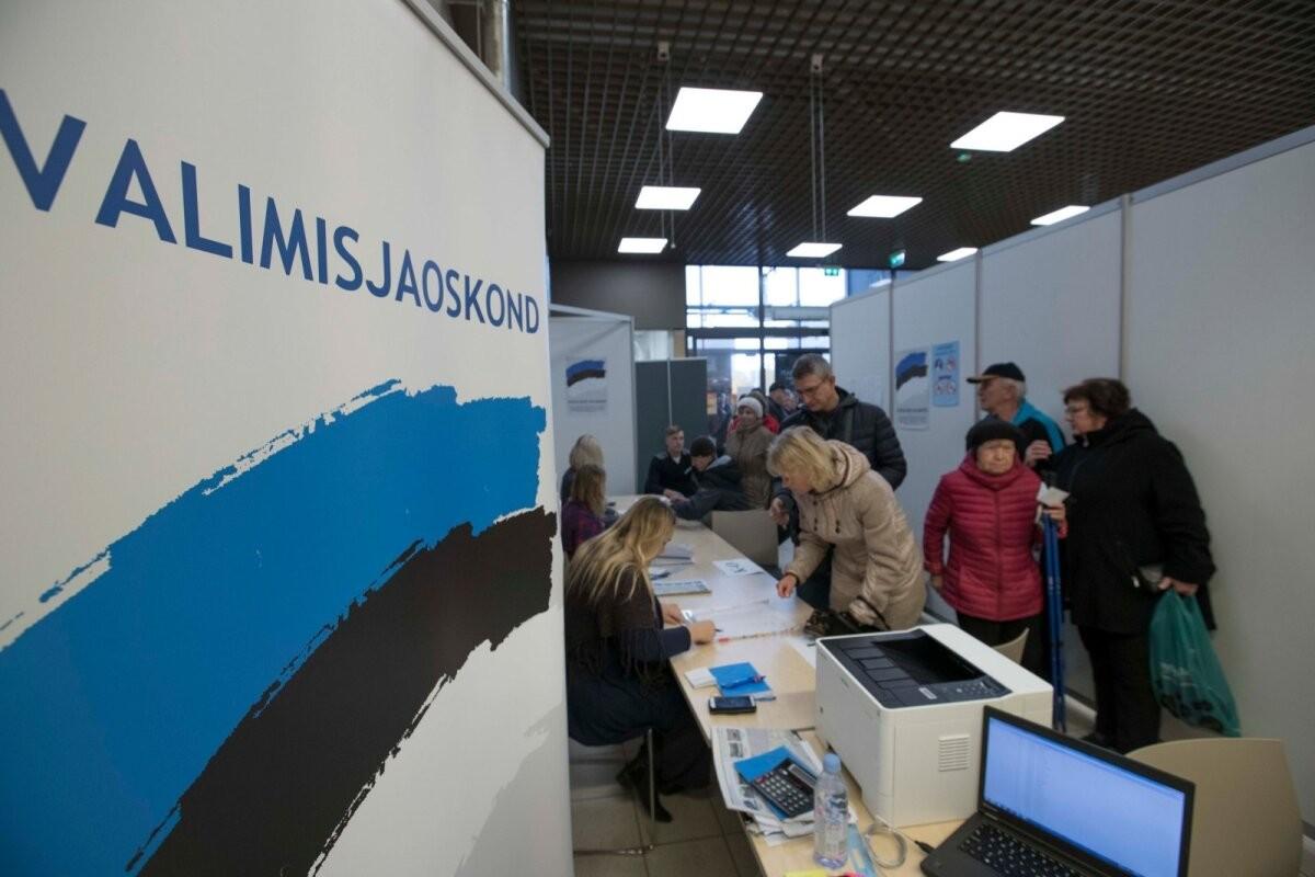 Проголосовать на выборах в столичное горсобрание могут избиратели, чьим официальным местом жительства является Таллинн