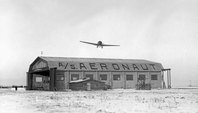 В торговых центрах Ласнамяэ летом будет открыта выставка об истории местного аэродрома