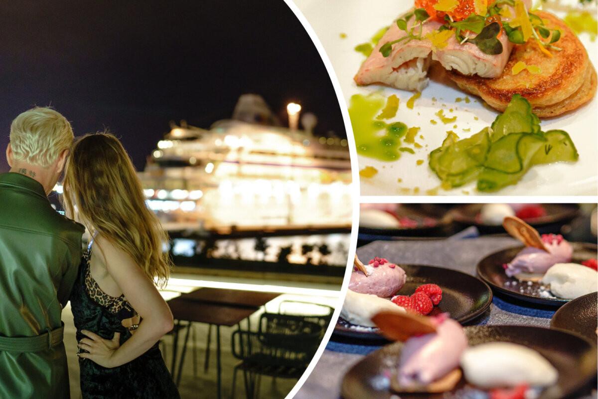 ФОТО | Вид на закат, рассвет и корабли. На популярном столичном променаде торжественно открылся ресторан OCEAN 11