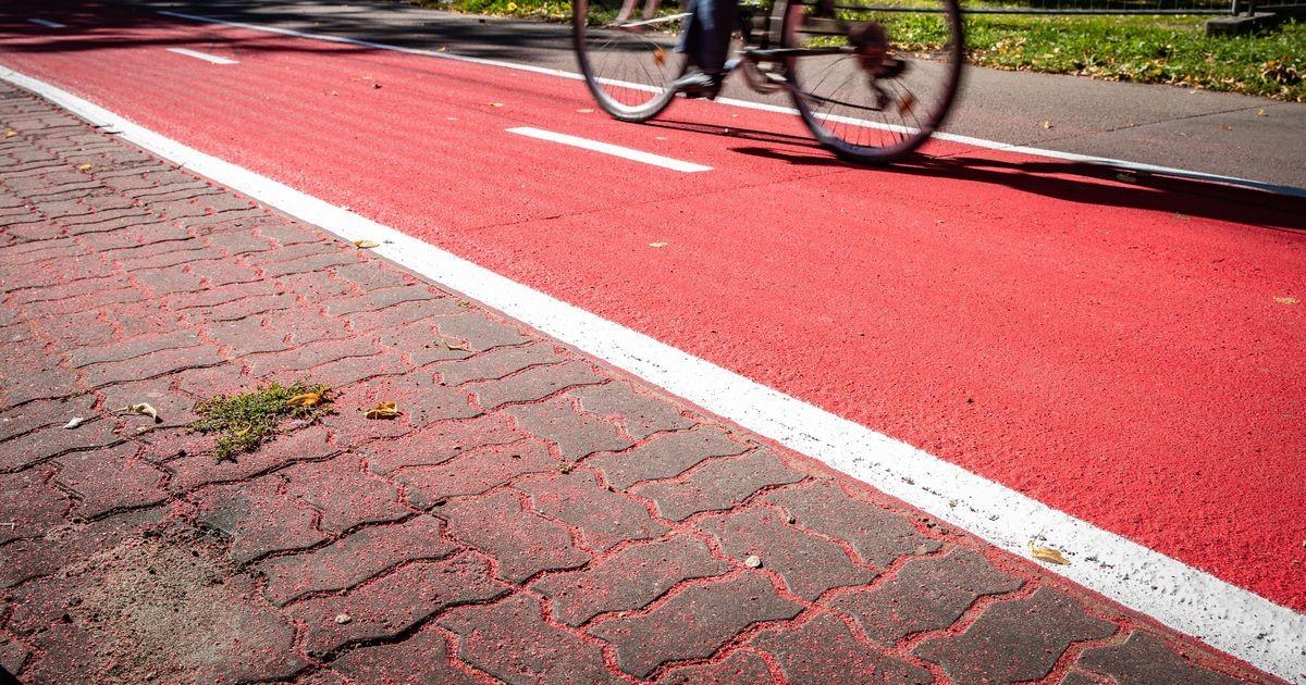 Кылварт: решение покрасить велодорожки в красный цвет было правильным
