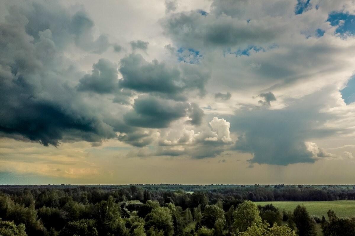 В Эстонию пришла гроза. Что будет с погодой на предстоящей неделе?