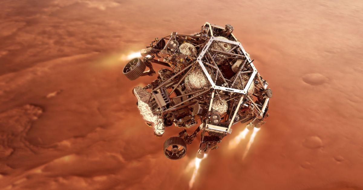 NASA впервые в истории показало видео с Марса
