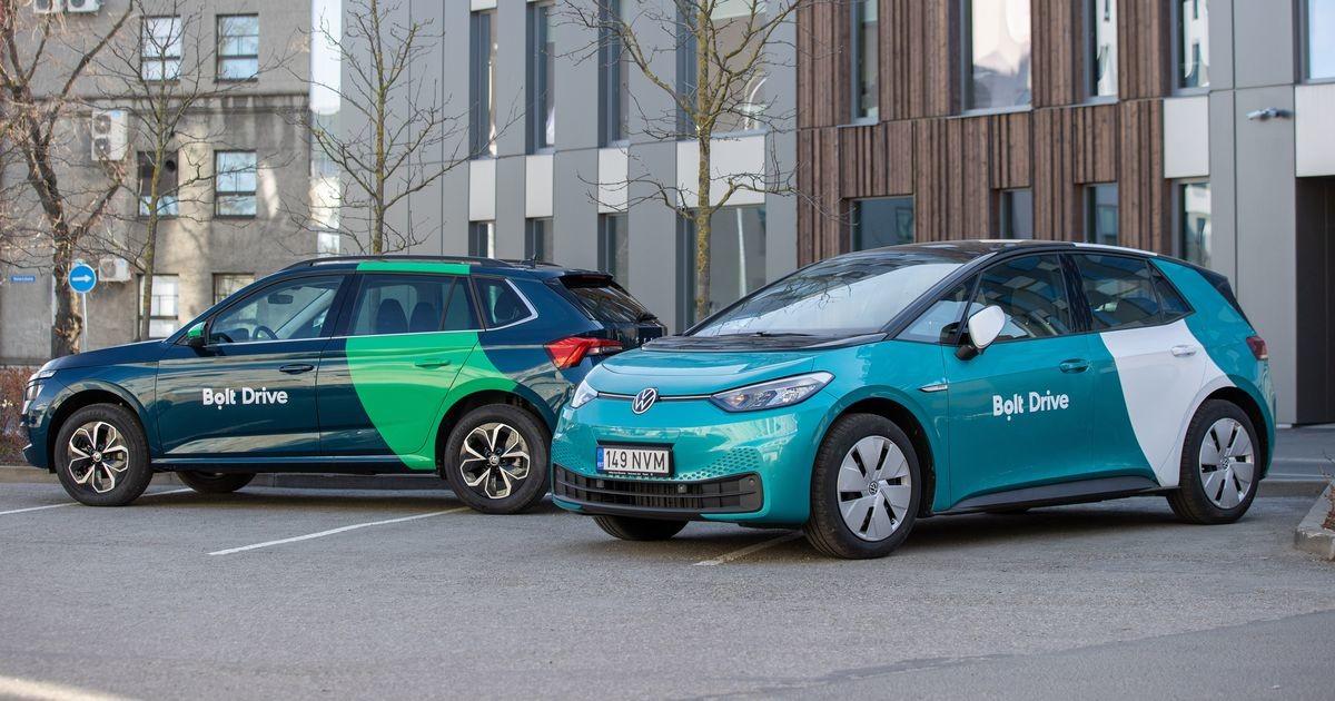 Автопарк каршеринга Bolt Drive расширился до 500 машин: стали доступны электромобили и фургоны