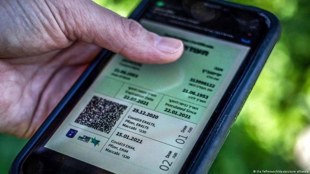 В Литве уже можно получить цифровое удостоверение ЕС по COVID /дополнено/