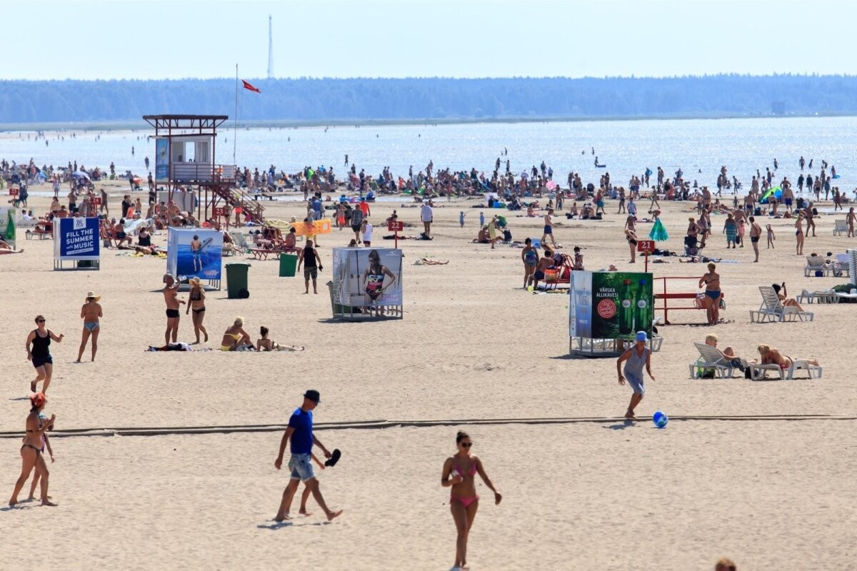 Во вторник в Эстонии ожидается 35 градусов жары