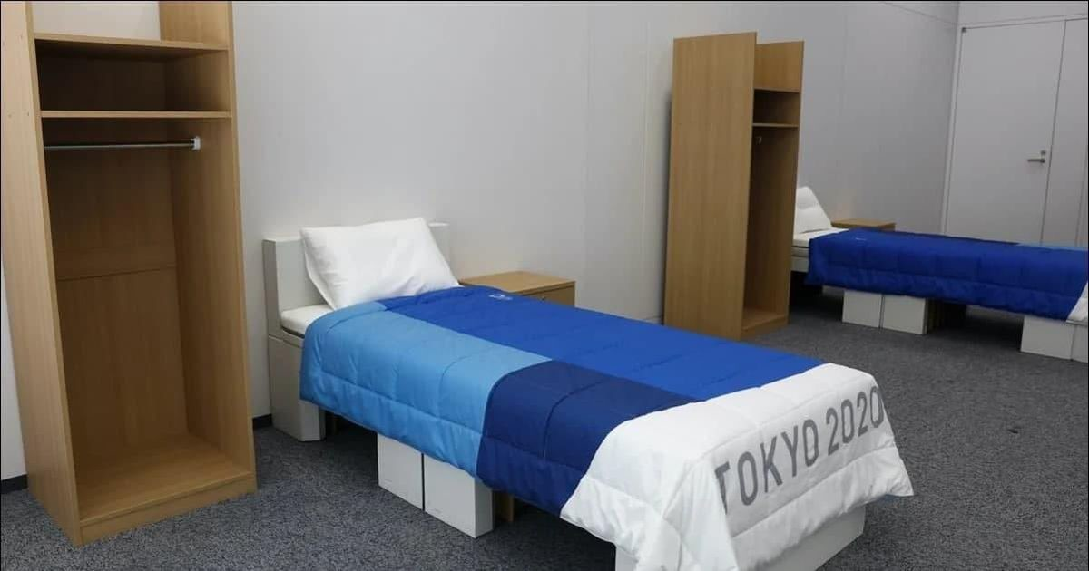 Спортсмены опасаются, что картонные кровати в Олимпийской деревне не выдержат определенных нагрузок