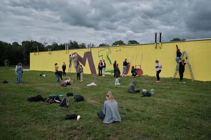 С 14 по 19 июня в Ида-Вирумаа пройдет фестиваль уличного искусства Rural Urban Art