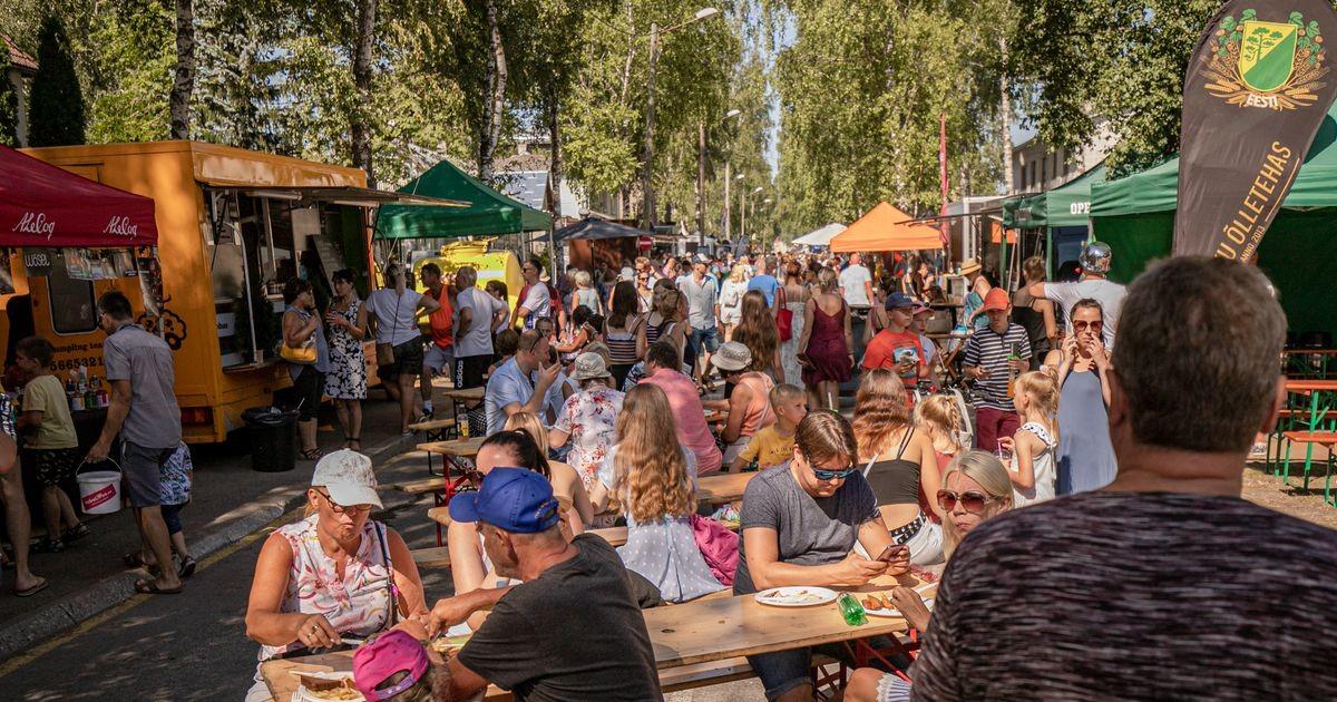 Фестиваль уличной еды произвел фурор в летней столице Эстонии