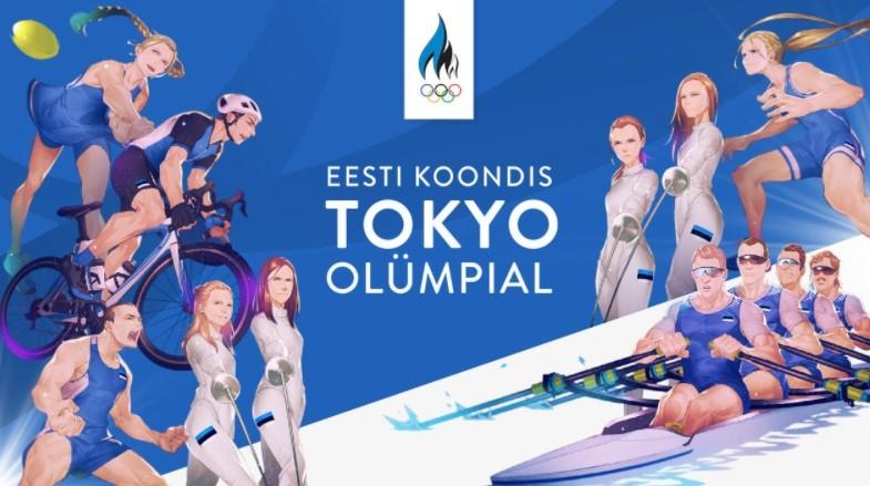 Эстонские олимпийцы получили облик героев аниме