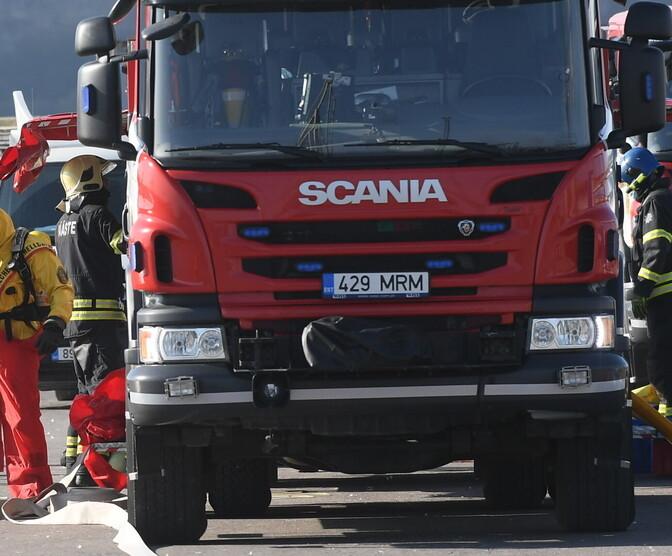 При пожаре в Харьюмаа погиб мужчина