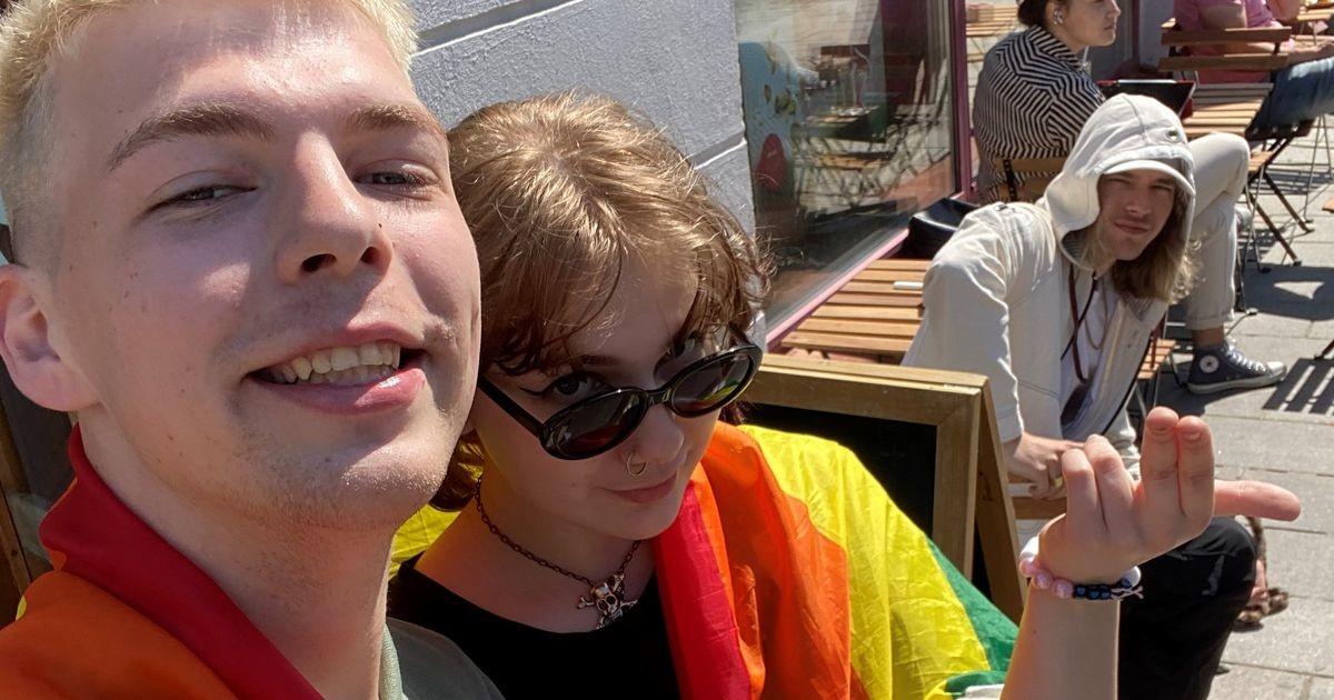 Гей-активист нашел себе союзницу в лице дочери Марта Хельме