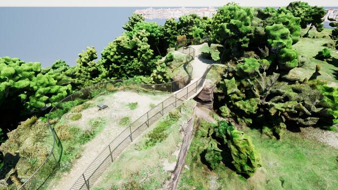На глинте Маарьямяэ появится мост со смотровой платформой