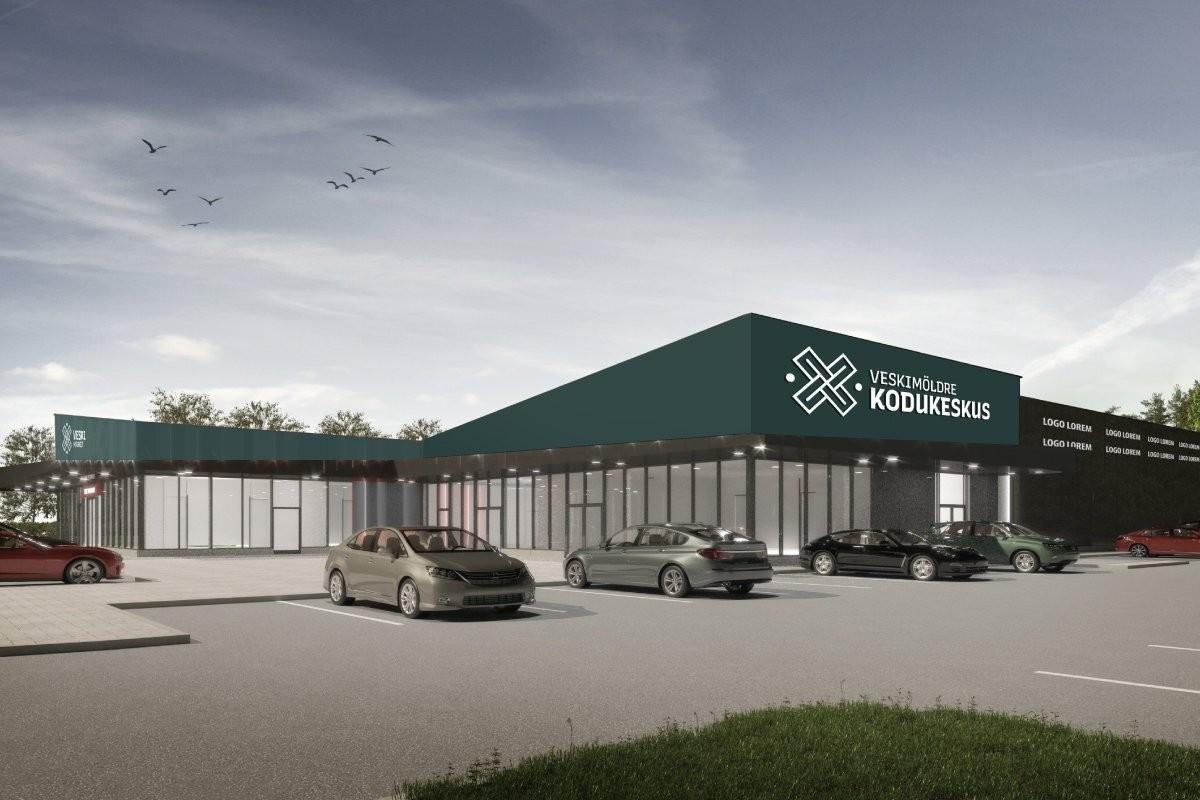 ФОТО | Под Таллинном построят еще один торговый центр. Чем он будет отличаться от других?