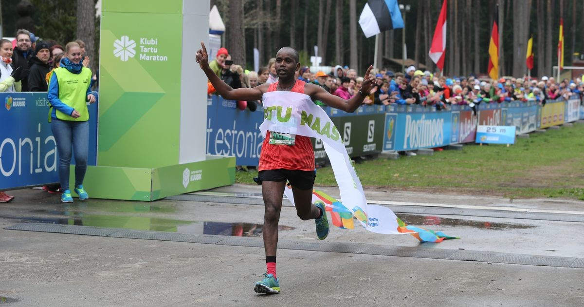 Победу на Таллиннском марафоне одержал кениец Ибрахим Мукунга
