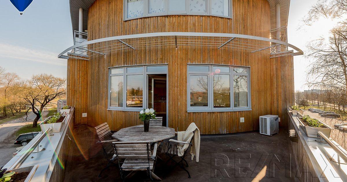 Фото: спорим, другой квартиры с такой террасой в Эстонии не существует!