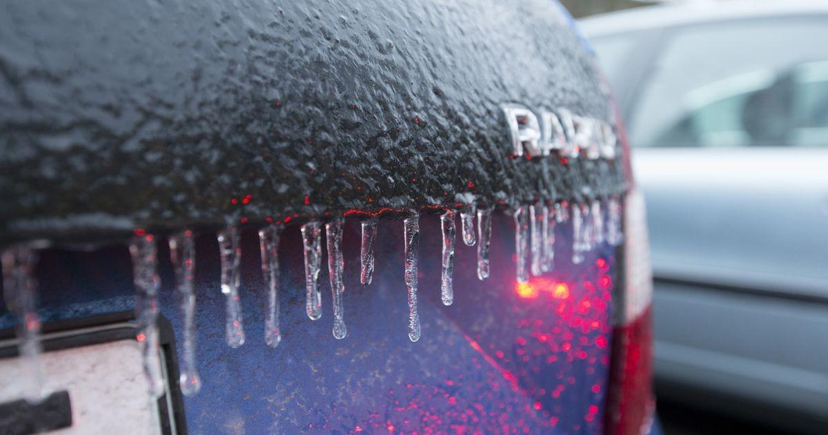 Сидите дома! Ледяной дождь сделал дороги крайне опасными