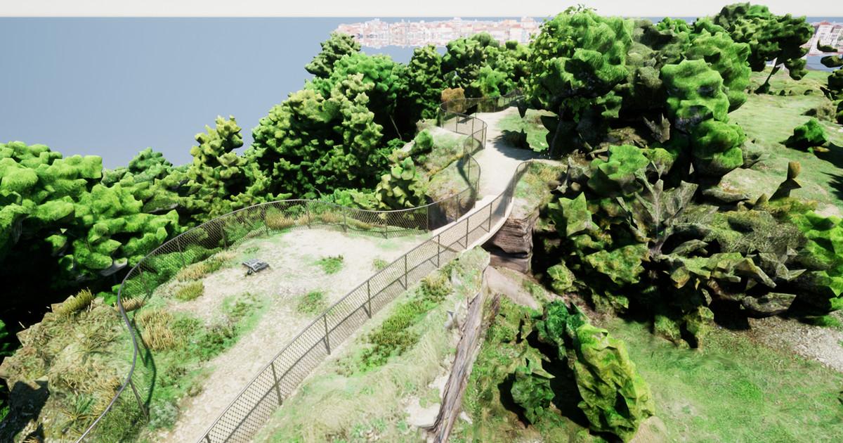 На глинте Маарьямяэ появится мост со смотровой площадкой
