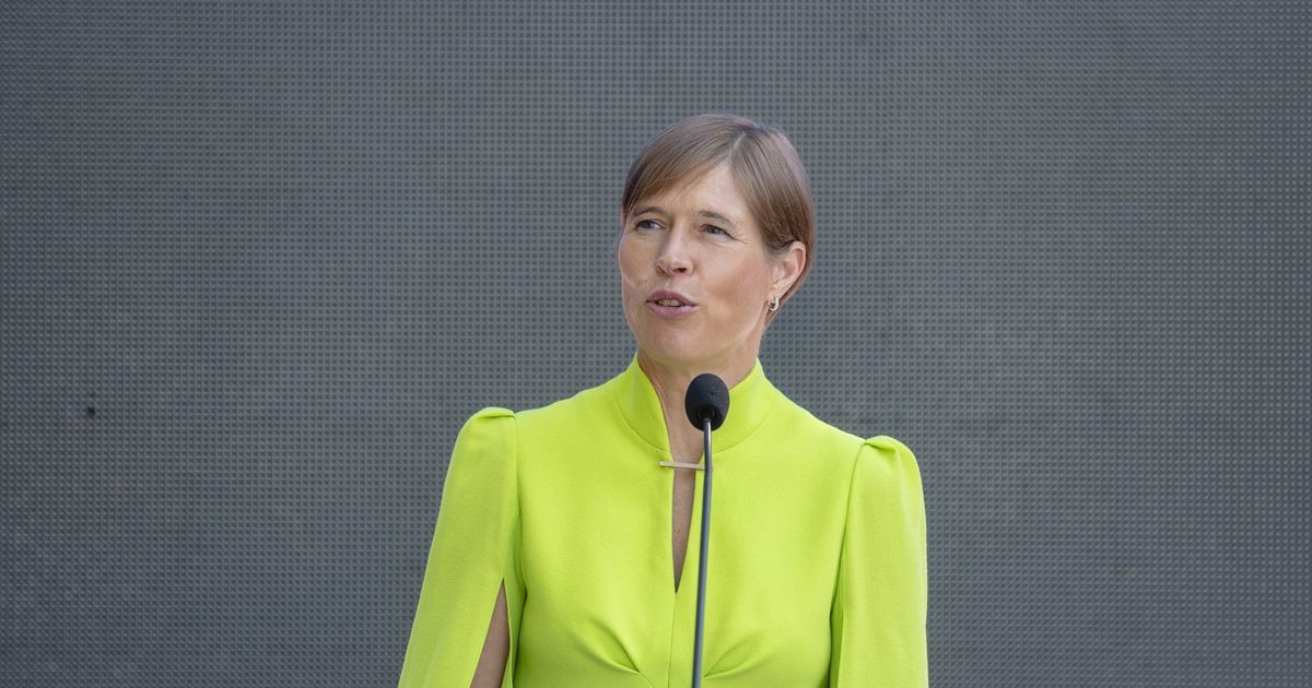 Кальюлайд призвала к реформе президентских выборов