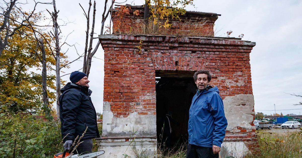 Часовня немецких военнопленных, кузница, частный дом? Странная находка на Пальяссааре