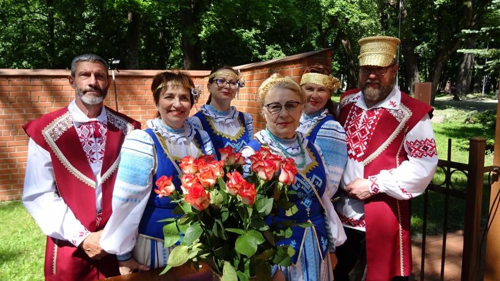 Юбилейный концерт клайпедской «Купалинки»
