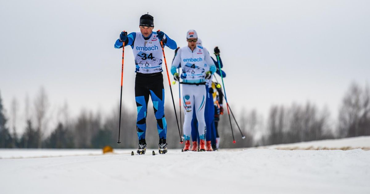 Тесты на коронавирус троих участников Тартуского лыжного марафона оказались позитивными