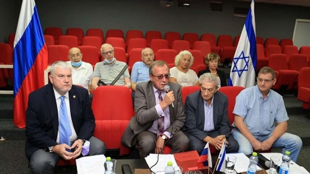 Российские дипломаты и соотечественники в Израиле приняли участие в Международном антифашистском форуме