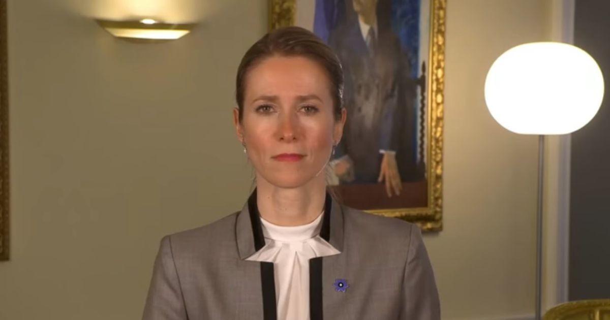 Каллас обратилась к жителям Эстонии: мы приняли несколько принципиальных решений и важных изменений