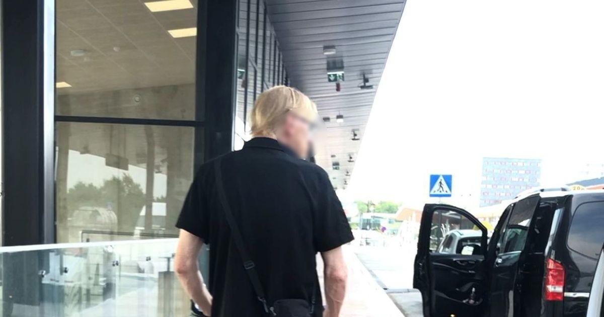Загадочный мужчина с чемоданами  коротает месяцы в Таллиннском аэропорту и не знает, когда это закончится