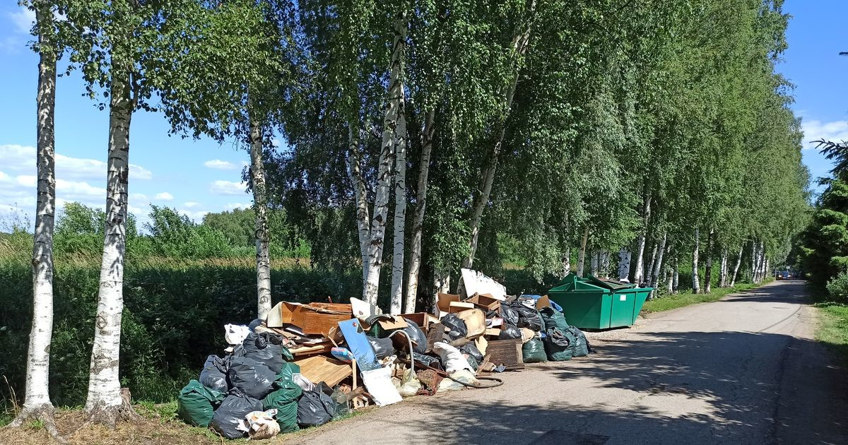 Большинство садовых товариществ Нарвы оплачивают за дачников вывоз строительного мусора