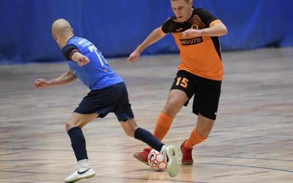 «Нарва Юнайтед» сравняла счет в полуфинальной серии чемпионата Эстонии по футзалу