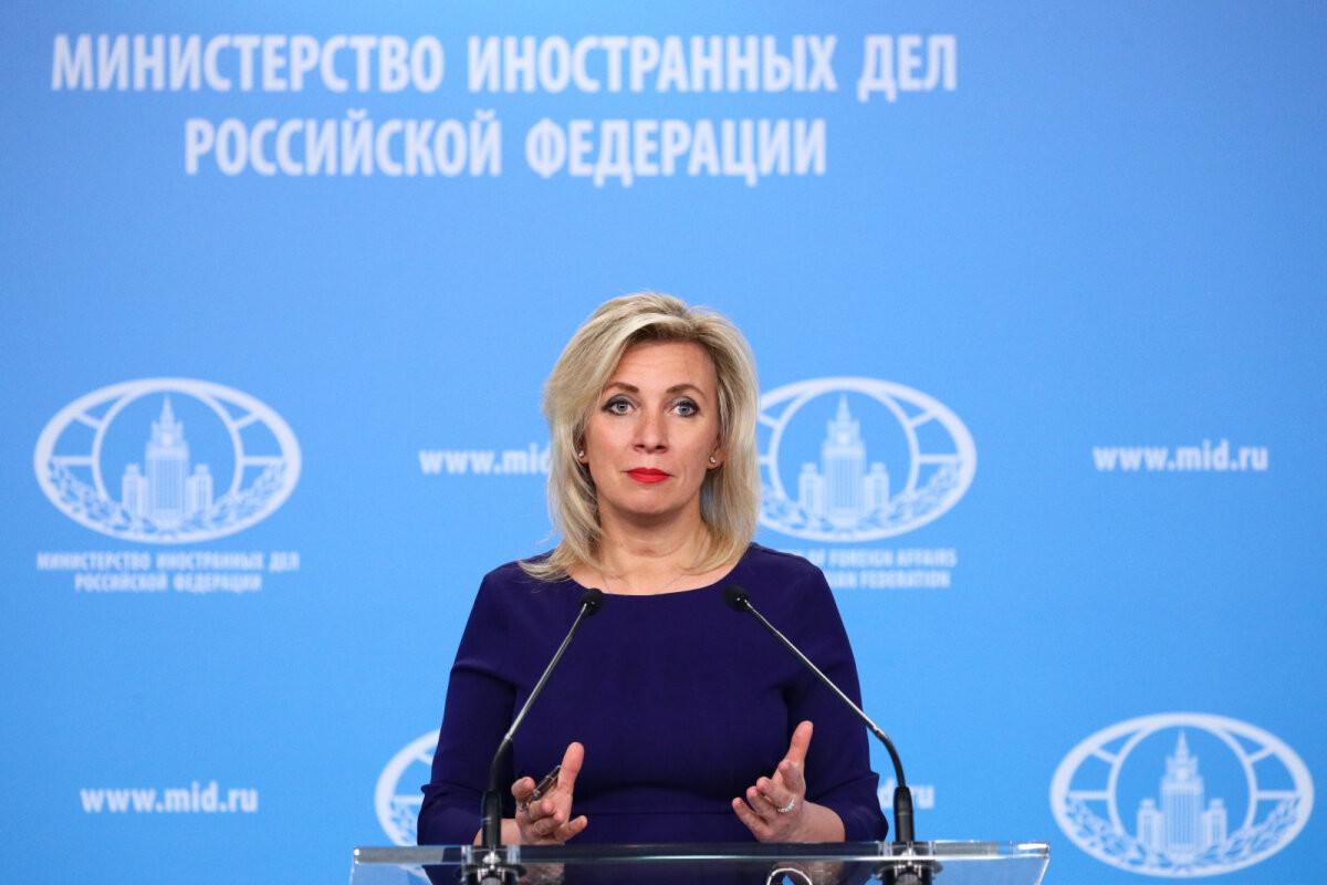 Захарова заявила, что РФ ответит странам Балтии на высылку российских дипломатов
