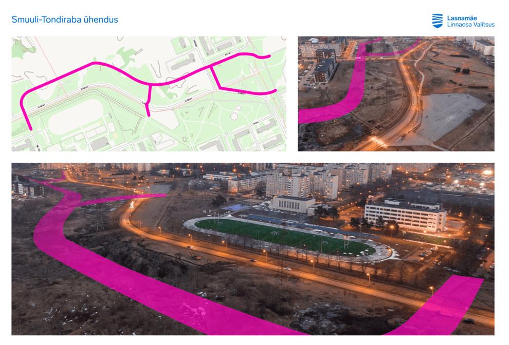 Хорошие новости: новая велодорожка свяжет Кадриорг и парк Тондираба