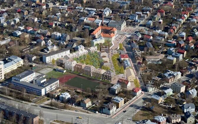 Фирма недвижимости планирует построить на месте Дома мебели деловой и жилой квартал