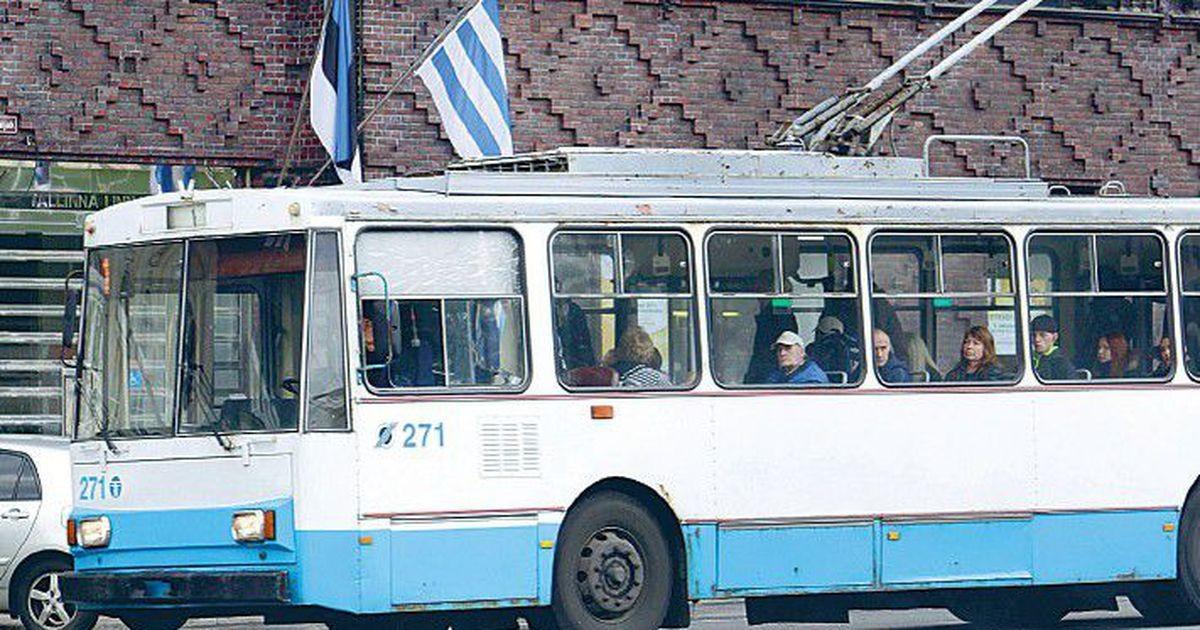 Назад в прошлое? Выход на линию старых троллейбусов позабавил жителей Таллинна