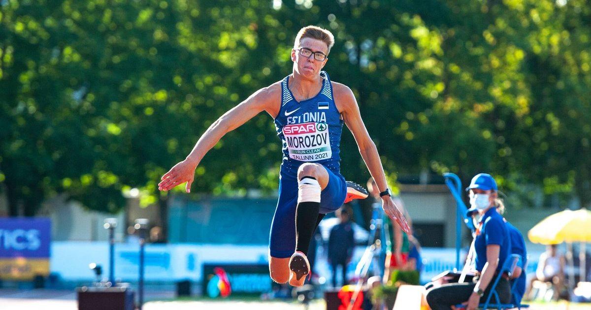 Эстонцы Пихела и Морозов завоевали бронзовые медали юниорского чемпионата Европы