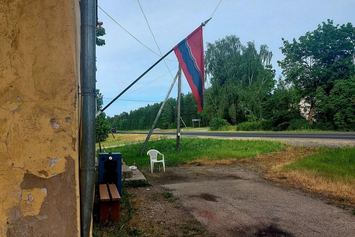 ФОТОНОВОСТЬ | В волости Тапа вывесили советский флаг
