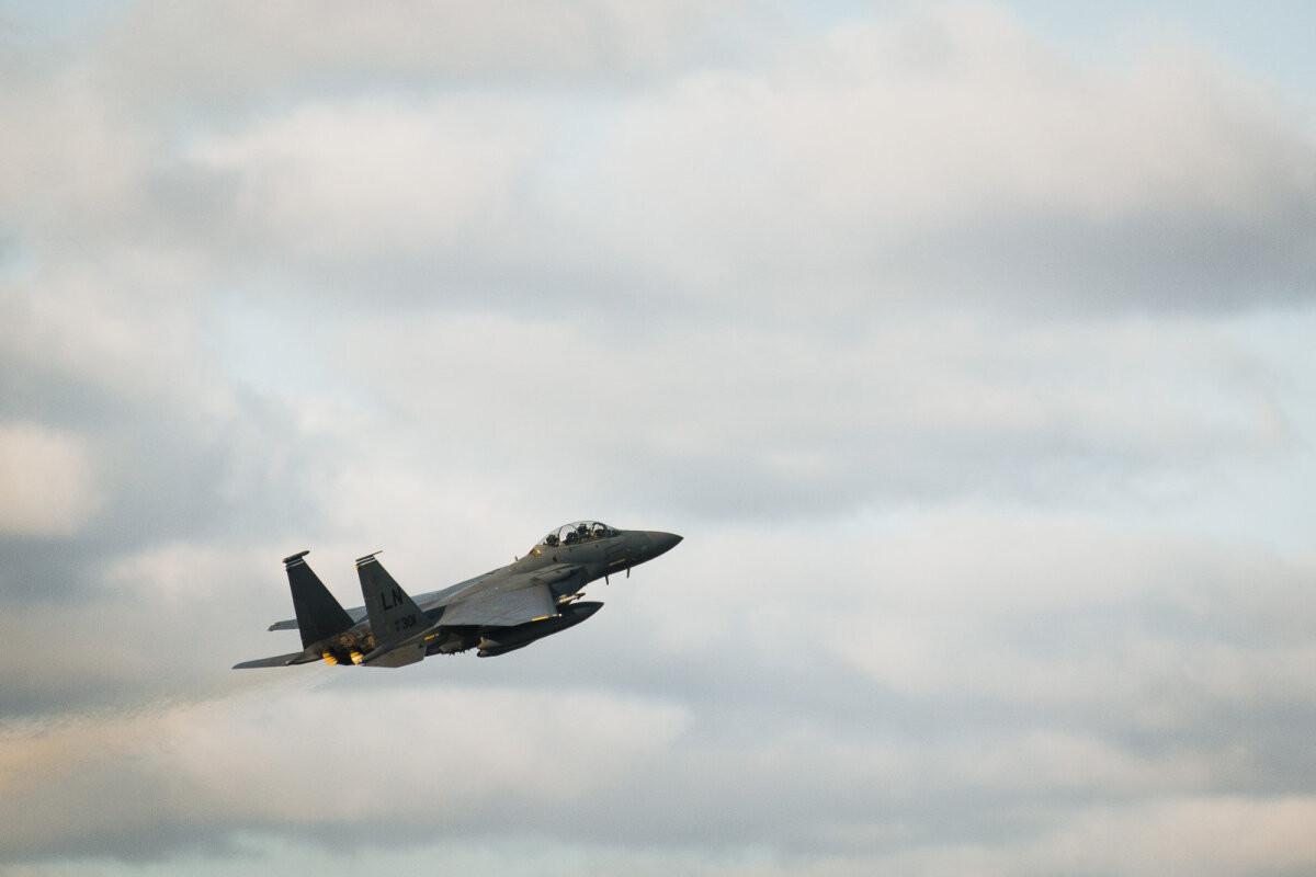 В Эстонию на учения прилетят истребители ВВС США