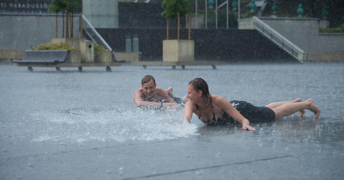 Синоптики: жару в Эстонии разбавят ливни и грозы