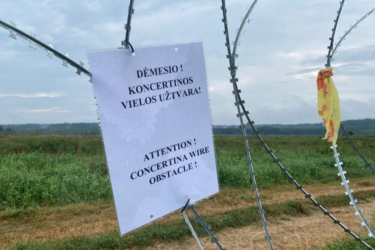 Провокации Беларуси на границе с Литвой стали еще более дерзкими: впервые нелегал вел себя таким образом