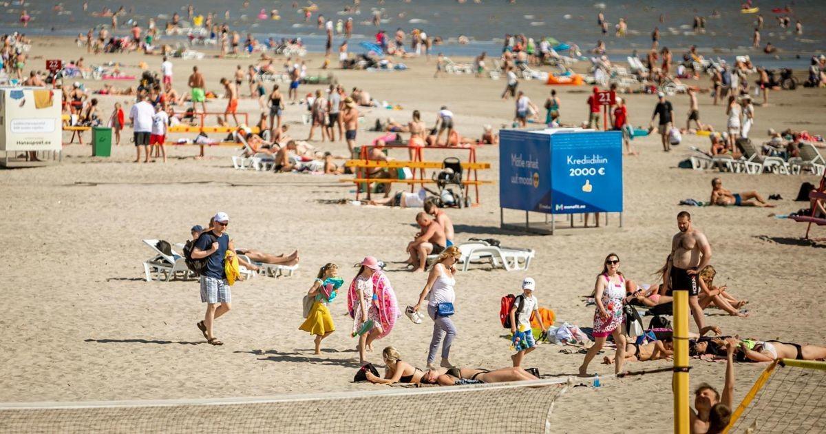 На Эстонию идет волна жары: как изменится погода в ближайшие дни