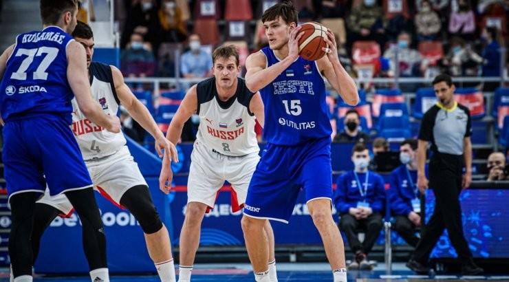 Сборная Эстонии по баскетболу проиграла России. Шансы получить путевку на ЧЕ остаются
