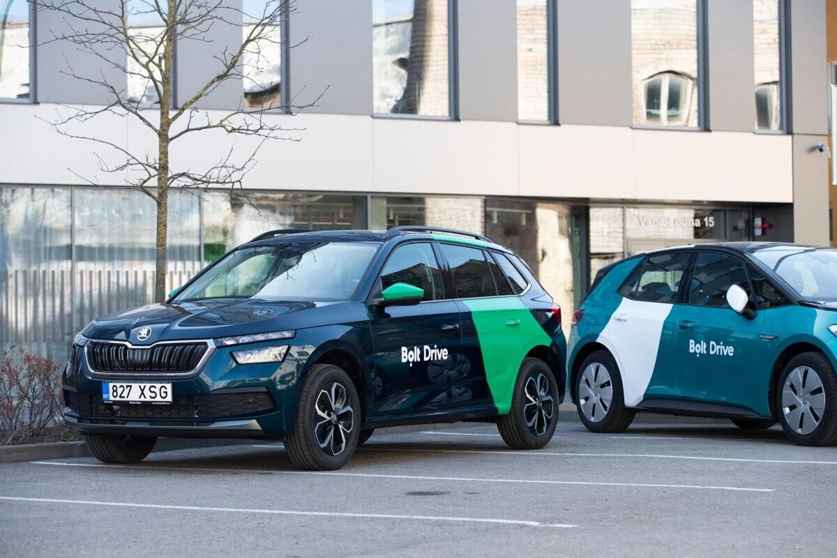 Bolt Drive начал предлагать аренду электромобилей и микроавтобусов
