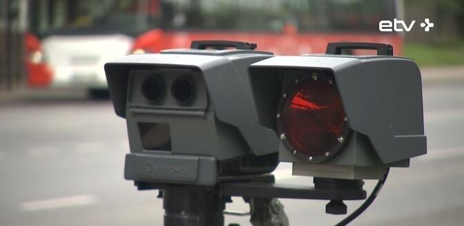 За первое полугодие мобильные камеры контроля скорости зафиксировали 107 тысяч нарушений