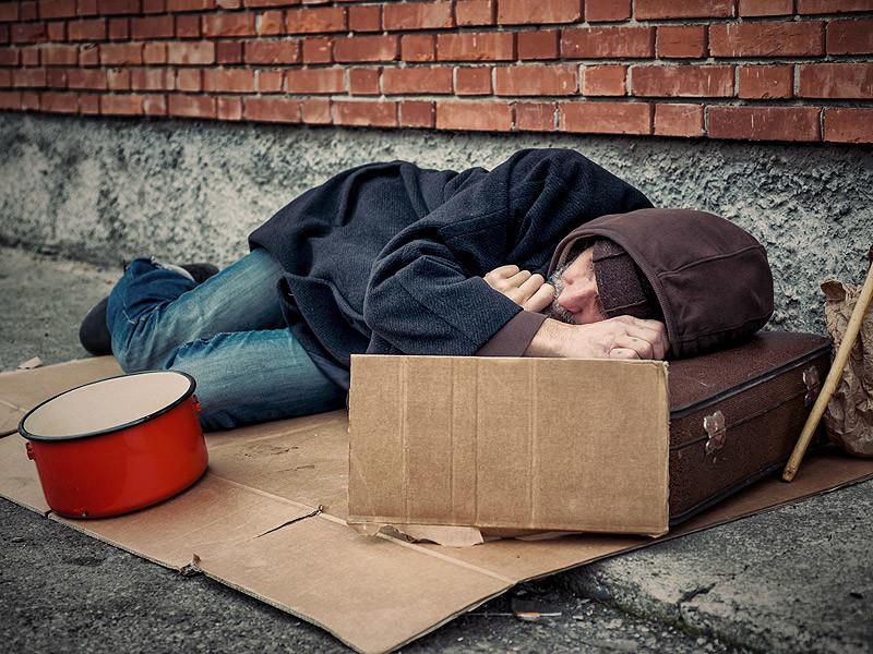 Число бездомных в Таллине снизилось почти на тридцать процентов